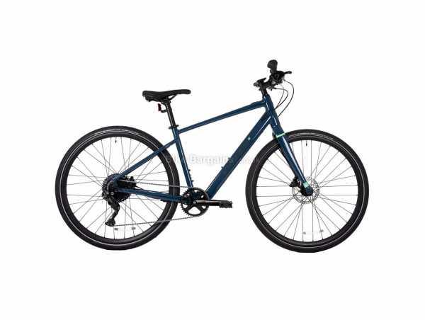 Kinesis Lyfe Alloy Hybrid Electric Bike 2021 S,M,L, Blue, 17kg, Alloy Frame, 700c wheels, 10 Speed, Single Chainring, Disc Brakes