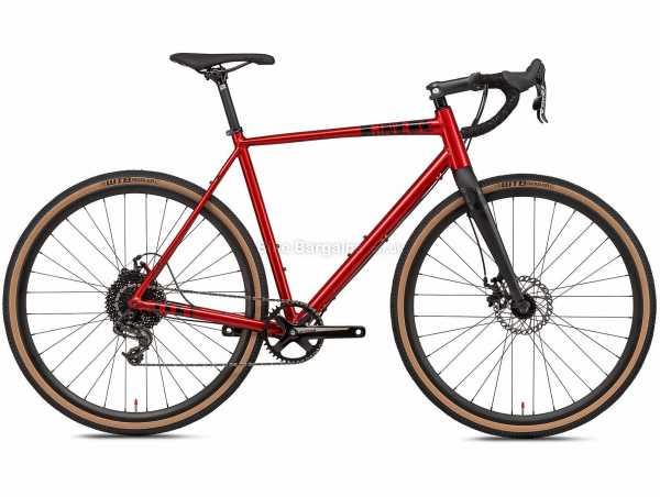 Octane One Gridd 2 Alloy Gravel Bike 2021 L, Red, Alloy Frame, Apex 10 Speed, 700c Wheels, Disc Brakes, Single Chainring
