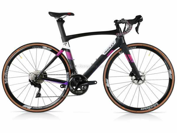 Ridley Jane SL 105 Ladies Carbon Road Bike S, Pink, 105 22 Speed, Carbon Frame, 700c, Disc Brakes, Double Chainring