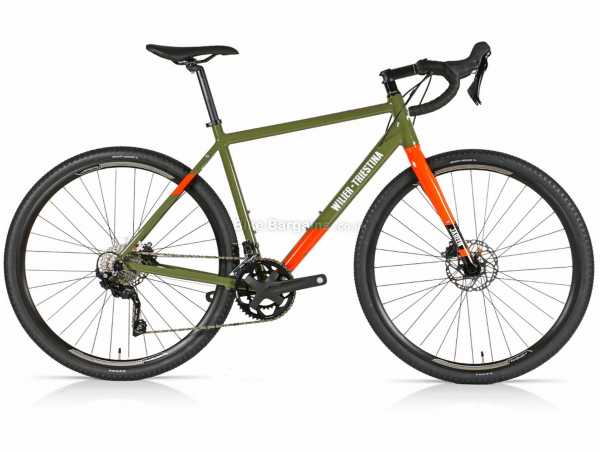 Wilier Jareen GRX Alloy Gravel Bike 2021 S,M,L,XL, Green, Orange, Alloy Frame, 700c Wheels, GRX 20 Speed, Disc Brakes, Double Chainring