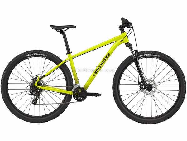 """Cannondale Trail 8 Ltd Alloy Hardtail Mountain Bike 2021 S,M, Black, Alloy Frame, 27.5"""" or 29"""" Wheels, Microshift 14 Speed Drivetrain, Disc Brakes, Double Chainring"""
