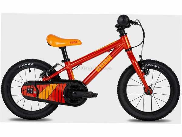 "Cuda Trace 14"" Alloy First Pedal Kids Bike M, Red, 14"" Wheels, Alloy Frame, Caliper Brakes, Single Speed Drivetrain, Single Chainring, 6.26kg"
