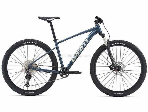 "Giant Talon 0 27.5"" Alloy Hardtail Mountain Bike 2021 S, Blue, Black, Alloy Frame, 27.5"" Wheels, Deore 10 Speed Drivetrain, Disc Brakes, Single Chainring"