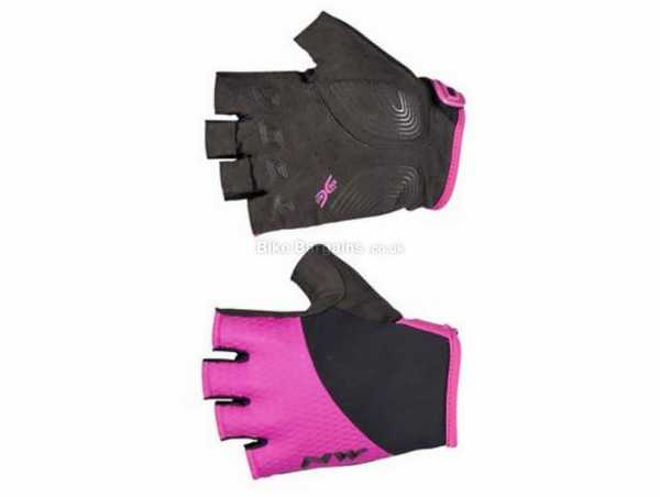 Northwave Swift Short Finger Ladies Mitts XL, Pink, Black, Mitts, Polyester, Velcro