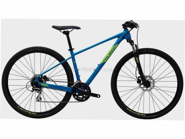 "Polygon Heist X2 Alloy City Bike S,M,L,XL, Blue, Green, Black, 29"" Wheels, Alloy Frame, Disc Brakes, Altus, Acera 16 Speed Drivetrain, Double Chainring"