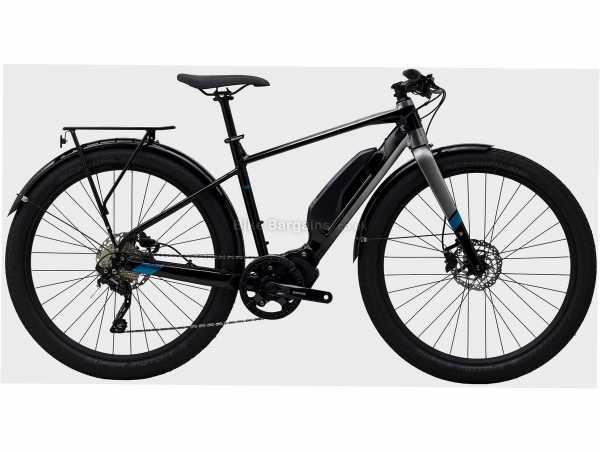 "Polygon Path E5 Alloy Electric Bike S,M,L,XL, Black, Grey, Blue, 27.5"" Wheels, Alloy Frame, Disc Brakes, Deore 10 Speed Drivetrain, Single Chainring"
