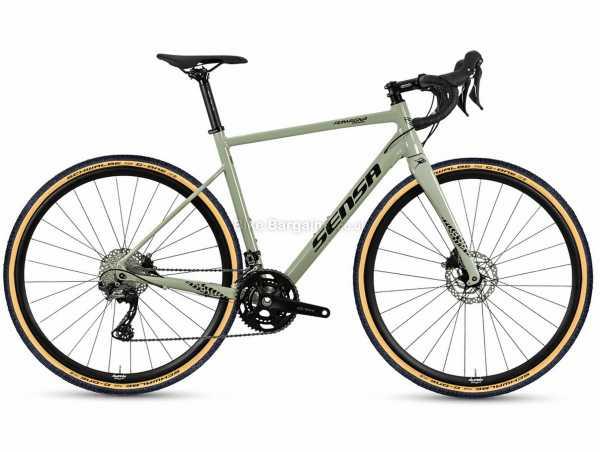 Sensa Romagna GRX Alloy Gravel Bike 2021 58cm,61cm, Grey, Alloy Frame, 700c Wheels, 11 Speed, GRX, Disc Brakes, Double Chainring, Rigid, 10.2kg