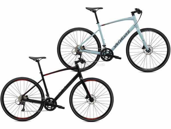 Specialized Sirrus 3.0 Sports Alloy City Bike 2021 XS, Black, Alloy Frame, 700c Wheels, Microshift & Sora 18 Speed Drivetrain, Disc Brakes, Double Chainring