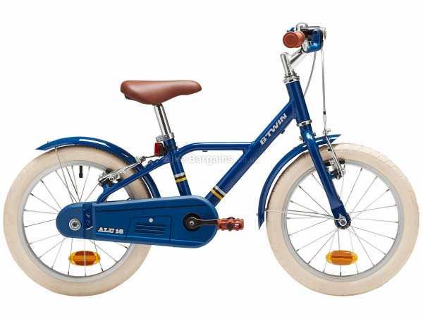 "B'Twin 900 16"" 4-6 Alloy Kids Racing Bike M, Red, Black, Blue, Alloy Frame, 16"" Wheels, Single Speed, Caliper Brakes, 7.1kg"