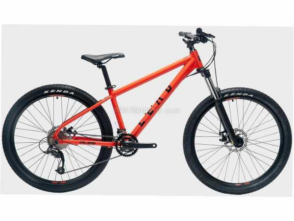 """Calibre Lead Alloy Hardtail Mountain Bike S,M,L, Red, Black, Alloy Hardtail Frame, Microshift 16 Speed Groupset, 27.5"""" Wheels, Disc Brakes, Double Chainring"""