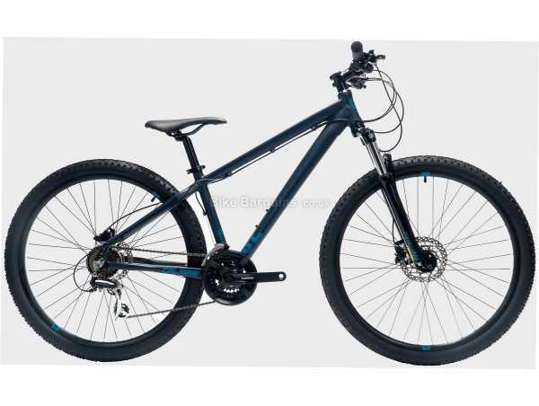 "Calibre S2 Alloy Hardtail Mountain Bike 17"",19"", Blue, Black, Alloy Hardtail Frame, Acera 21 Speed Groupset, 27.5"" Wheels, Disc Brakes, Triple Chainring"