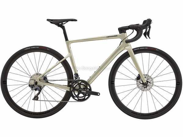 Cannondale Supersix Evo Carbon Disc Ladies Ultegra Road Bike 2021 44cm, Brown, Carbon Frame, 700c Wheels, 105, Ultegra 22 Speed, Disc Brakes, Rigid, Double Chainring