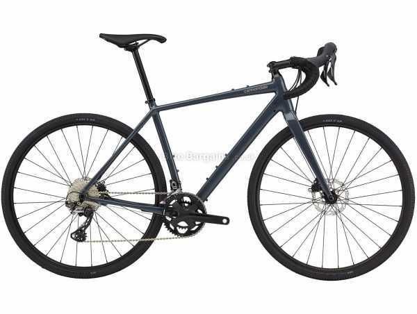 Cannondale Topstone 1 Alloy Gravel Bike 2021 L, Grey, Alloy Frame, 700c Wheels, 105, GRX 22 Speed, Disc Brakes, Rigid, Double Chainring