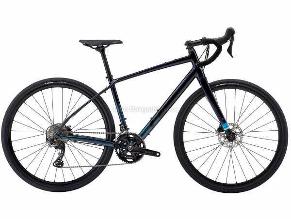 Felt Broam 30 Alloy Gravel Bike 2021 58cm, Blue, Black, Alloy Frame, 700c Wheels, GRX 22 Speed Drivetrain, Disc Brakes, 11 Speed, Double Chainring, 10.56kg