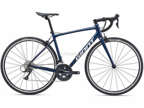 Giant Contend 1 Alloy Road Bike 2021 M,L,XL, Blue, Alloy Frame, 700c Wheels, Sora 18 Speed, Caliper Brakes, Rigid, Double Chainring