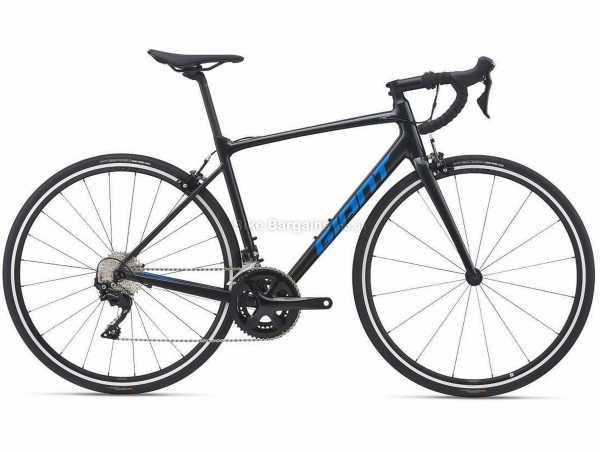 Giant Contend Sl 1 Alloy Road Bike 2021 XL, Black, Blue, Alloy Frame, 700c Wheels, 105 22 Speed, Caliper Brakes, Rigid, Double Chainring
