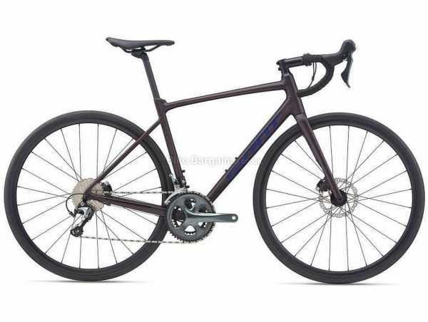 Giant Contend Sl 2 Disc Alloy Road Bike 2021 XL, Purple, Alloy Frame, 700c Wheels, Tiagra 20 Speed, Disc Brakes, Rigid, Double Chainring
