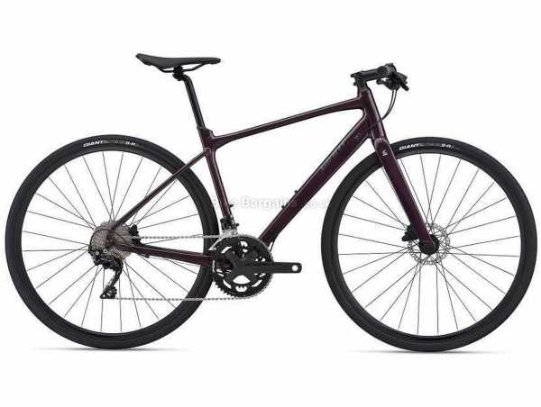 Giant Fastroad Sl 1 Sports Alloy City Bike 2021 M,L, Purple, Alloy Frame, 700c Wheels, 105 22 Speed, Disc Brakes, Rigid, Double Chainring