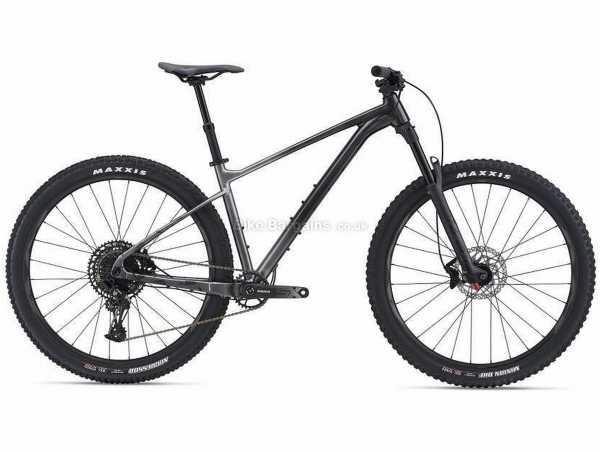 """Giant Fathom 29 1 Alloy Hardtail Mountain Bike 2021 S,XL, Black, Grey, Alloy Frame, 29"""" Wheels, SX Eagle 12 Speed, Disc Brakes, Hardtail, Suspension, Single Chainring"""