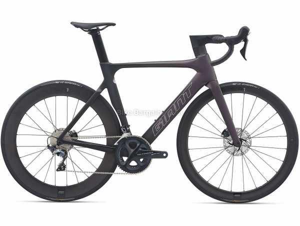 Giant Propel Advanced Pro Disc 1 Carbon Road Bike 2021 M,L, Purple, Carbon Frame, 700c Wheels, Ultegra 24 Speed, Disc Brakes, Rigid, Double Chainring