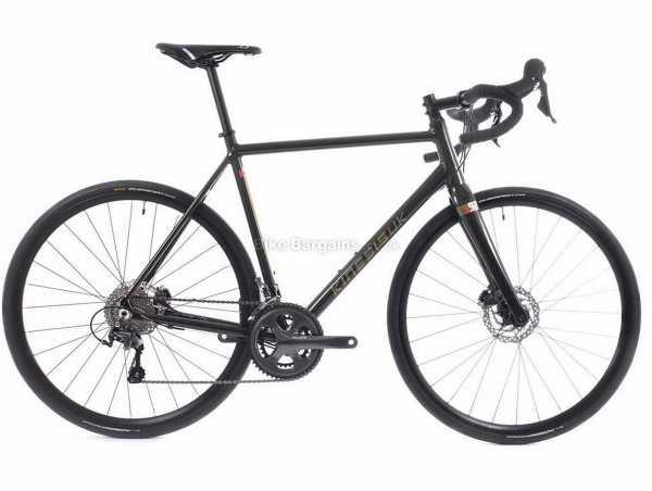 Kinesis R2 Alloy Road Bike 2021 54cm,57cm, Black, Gold, Alloy Frame, 700c Wheels, Tiagra 20 Speed Groupset, Disc Brakes, Double Chainring, 10.1kg