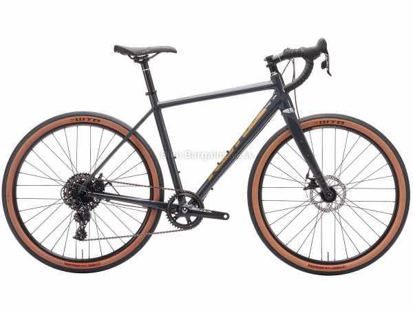 Kona Rove NRB All Road Alloy Gravel Bike 2021 52cm,54cm, Grey, Alloy Frame, 650c Wheels, Apex 11 Speed Groupset, Disc Brakes, Single Chainring