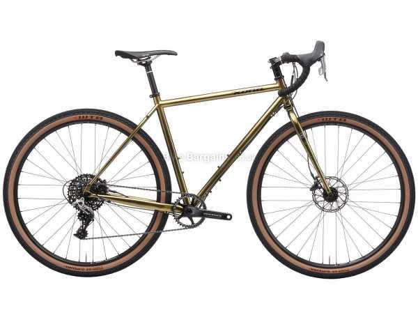 Kona Sutra LTD Steel Adventure Gravel Bike 2021 56cm, Brown, Steel Frame, 700c Wheels, Rival 11 Speed, Disc Brakes, Single Chainring