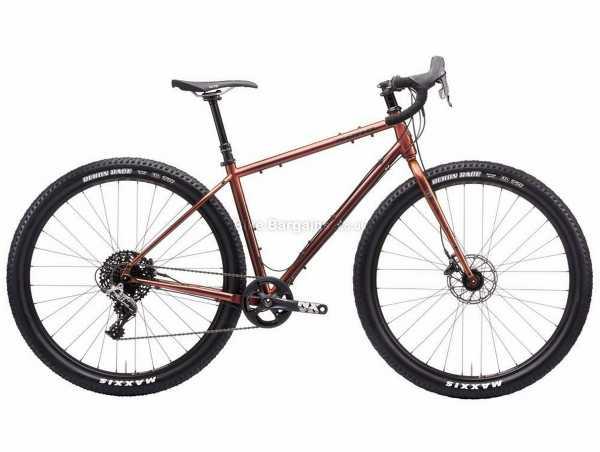 "Kona Sutra Ultd Steel Gravel Bike 2021 52cm, Brown, Steel Frame, 29"" Wheels, Rival 11 Speed Groupset, Disc Brakes, Single Chainring"