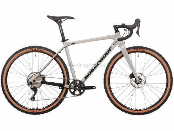 Nukeproof Digger 275 Comp Alloy Gravel Bike 2021 XL, Grey, Alloy Frame, 650c Wheels, SLX 11 Speed, Disc Brakes, Single Chainring, 9.73kg