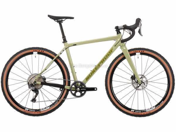 Nukeproof Digger 275 Factory Alloy Gravel Bike 2021 L,XL, Green, Alloy Frame, 650c Wheels, XT 11 Speed, Disc Brakes, Single Chainring, 9.68kg