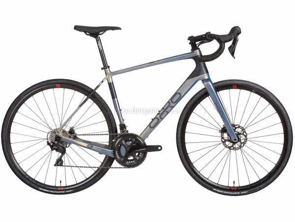 Orro Terra C LTD-ED 7020 RR9 Carbon Gravel Bike 2022 M,L, Grey, Black, Carbon Frame, 700c Wheels, 105 22 Speed, Disc Brakes, Double Chainring