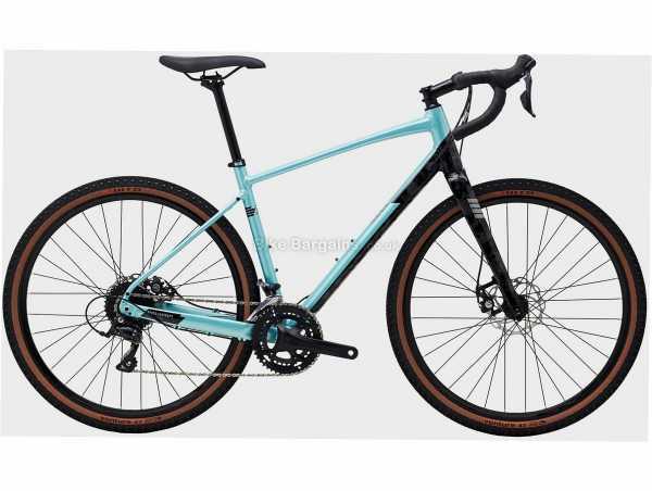 Polygon Bend R2 Alloy Gravel Bike S,M,L, Turquoise, Black, Alloy Frame, Sora 18 Speed Groupset, 650c Wheels, Disc Brakes, Double Chainring
