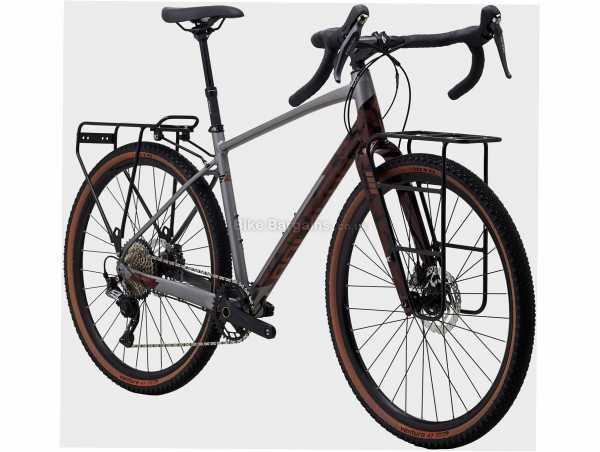Polygon Bend R5 Alloy Gravel Bike S,M,L, Grey, Brown, Alloy Frame, SLX & GRX 11 Speed Groupset, 650c Wheels, Disc Brakes, Single Chainring