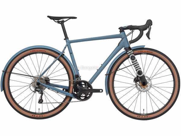 Rondo Mutt AL Alloy Gravel Bike 2021 M,L,XL, Blue, Alloy Frame, 650c Wheels, Tiagra 20 Speed, Disc Brakes, Double Chainring, 10.6kg