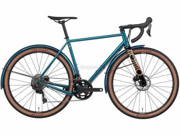 Rondo Mutt ST Steel Gravel Bike 2021 M,L,XL, Blue, Steel Frame, 650c Wheels, 105 22 Speed, Disc Brakes, Double Chainring, 10.6kg