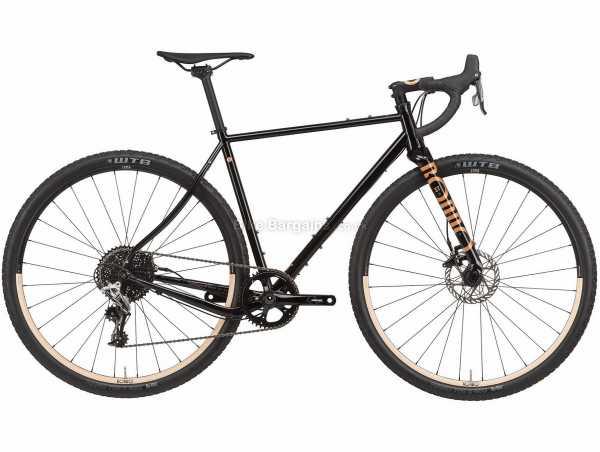 Rondo Ruut ST 1 Steel Gravel Bike 2021 L,XL, Black, Steel Frame, 700c Wheels, Rival 11 Speed, Disc Brakes, Single Chainring, 10.2kg