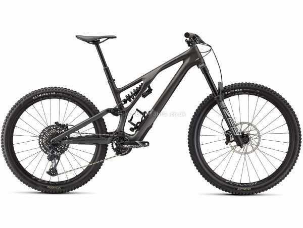 """Specialized Stumpjumper Evo Ltd Carbon Full Suspension Mountain Bike 2021 XXL, Grey, Black, Carbon Full Suspension Frame, 27.5"""" and 29"""" Wheels, X01 Eagle & GX 12 Speed Groupset, Disc Brakes, Single Chainring"""