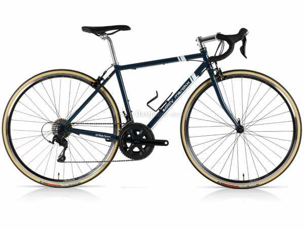 Eddy Merckx Criterium 105 Steel Road Bike XS, Blue, Steel Frame, 700c Wheels, 105 22 Speed, Groupset, Caliper Brakes, Double Chainring