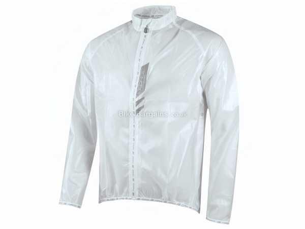 Force Lightweight Windproof Jacket M, White, Long Sleeve, Zip, Windproof