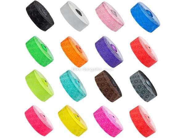 Supacaz Super Sticky Kush Bar Tape One Size, Pink, Blue, Green
